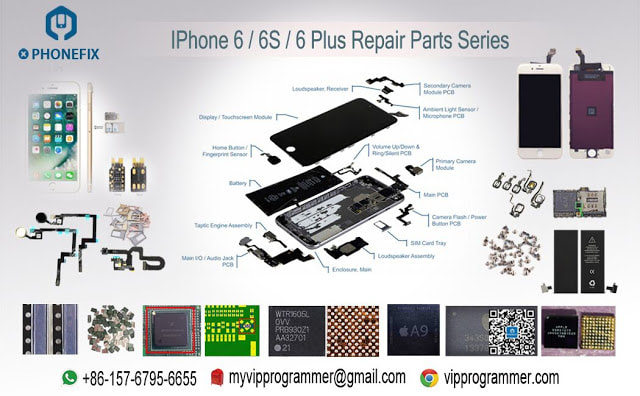 official photos fc2a4 acbeb How To Fix iPhone 6 Plus No touch disease - DIY TOOLS FOR PHONE REPAIRS